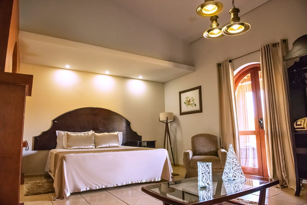 suite quarto de hotel tenondé park hotel sao miguel das missões
