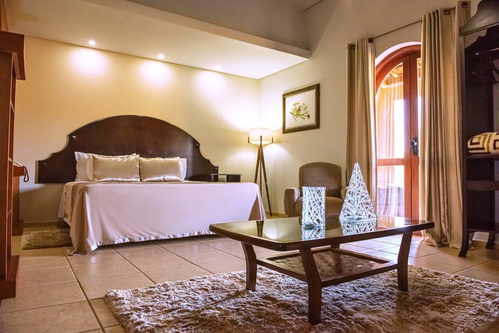 suite no tenondé hotel são miguel das missões pousada