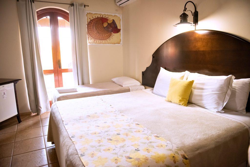 quarto lindo hotel maravilhoso tenondé park hotel sao miguel das missões