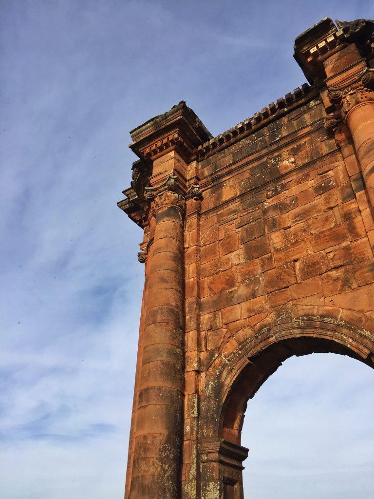 colunas das ruinas de são miguel